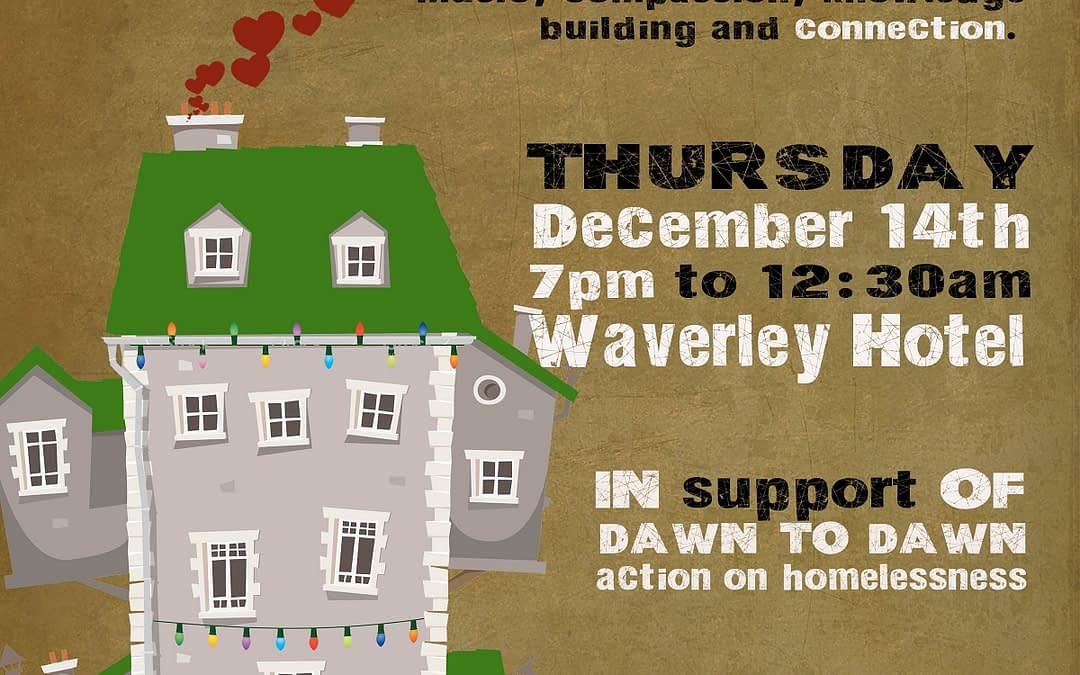 Where the Heart Is: Benefit for Supportive Housing December 14th